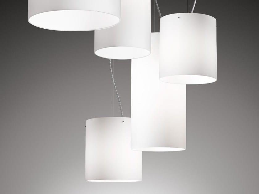 Glass pendant lamp STICK 100-150-240 by Ailati Lights