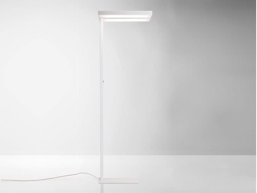 Aluminium floor lamp STICK   Floor lamp by Quadrifoglio