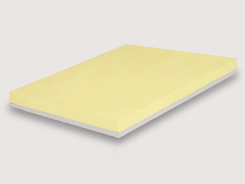 Polyester thermal insulation panel STIREN X CTG by Isolmar
