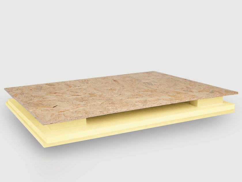 Polyester thermal insulation panel STIREN X PAN by Isolmar