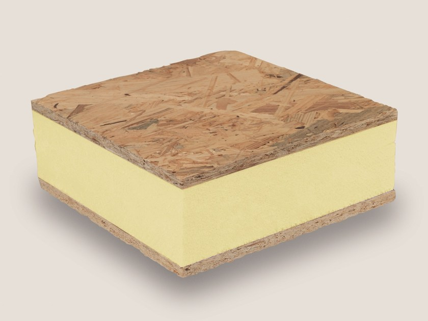 Polyester thermal insulation panel STIREN X WR by Isolmar