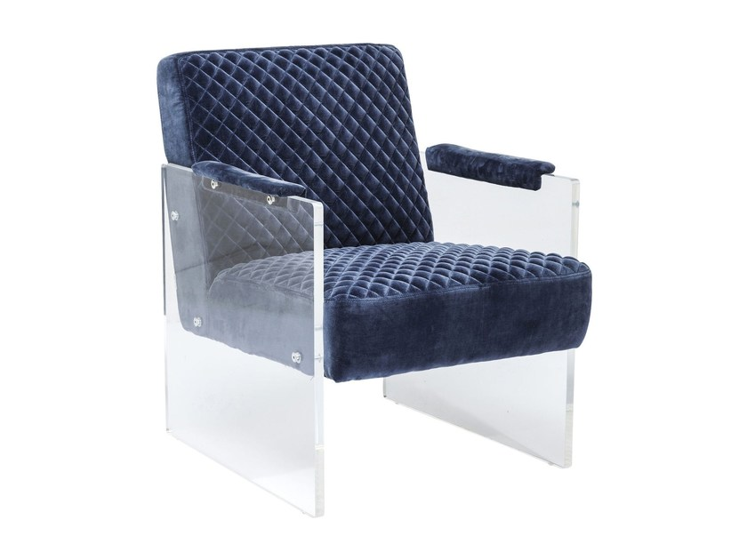 Armchair with armrests STITCH VISIBLE | Armchair by KARE-DESIGN