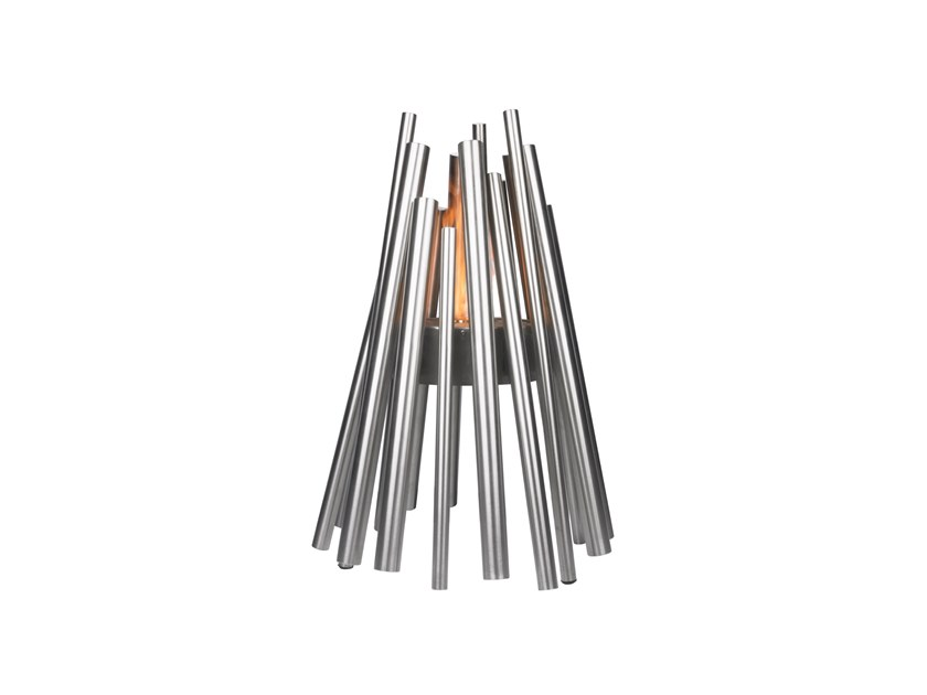 STIX Stix Fire Pit - Stainless Steel by EcoSmart Fire