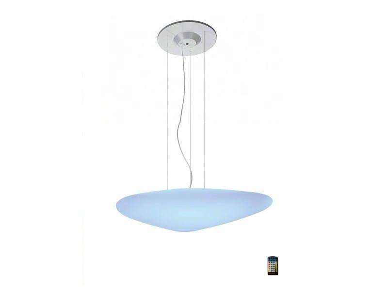 LED polyethylene pendant lamp STONE LED | Pendant lamp by ALMA LIGHT