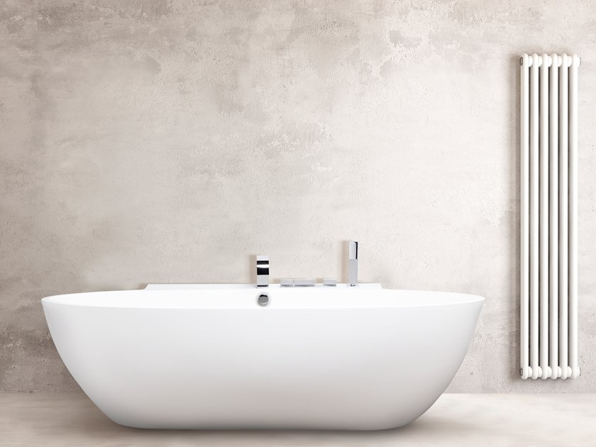 Oval bathtub STONE ONE WALL by AQUAdesign
