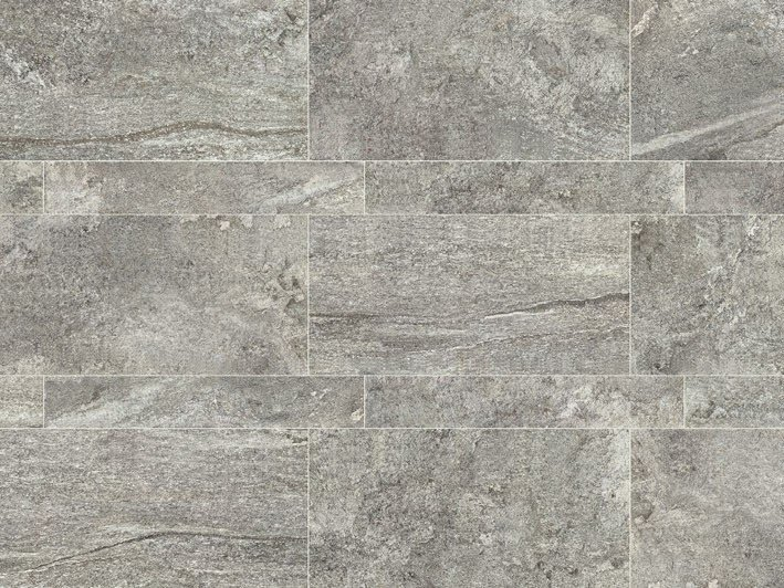 Indoor/outdoor full-body porcelain stoneware flooring STONE PLAN Luserna grigia by Italgraniti