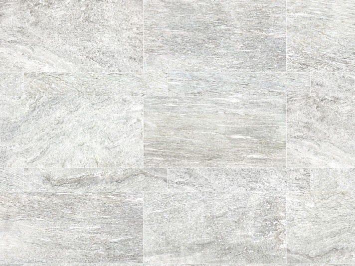 Pavimento in gres porcellanato a tutta massa per interni ed esterni STONE PLAN Vals bianca by Italgraniti
