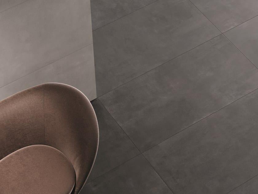 Porcelain stoneware wall/floor tiles STONECLOUD DARK by Marca Corona