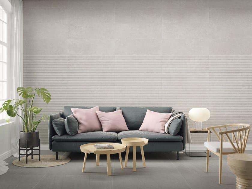 White-paste 3D Wall Tile STONEHILL by PERONDA