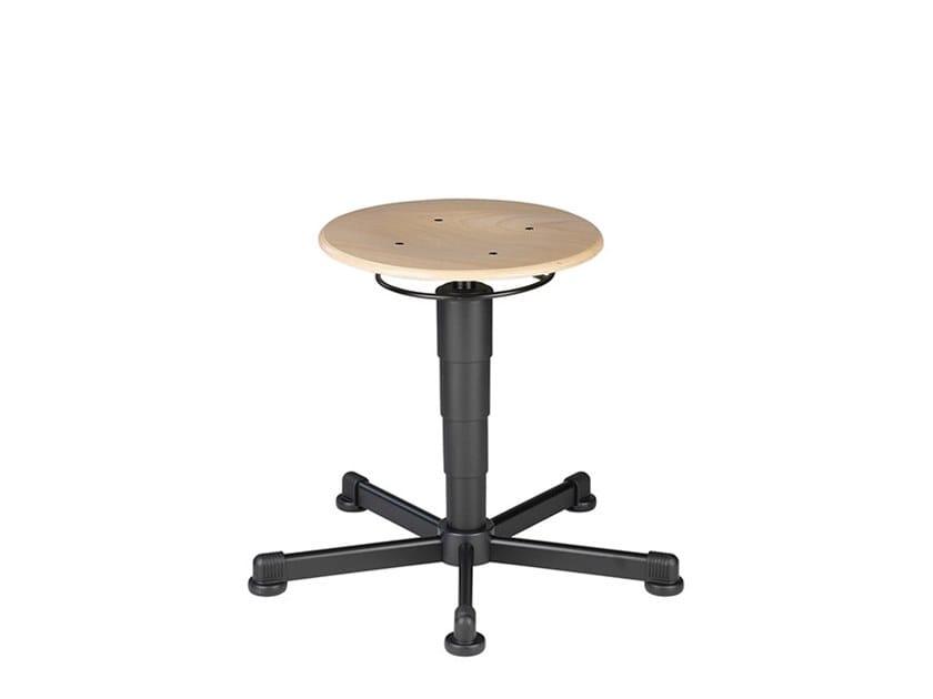 Work stool with 5-Spoke base STOOL 9467 by bimos
