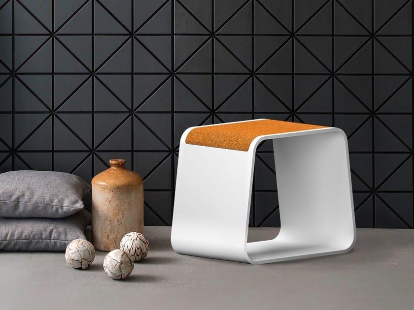 Corian® stool / coffee table STOOL by AMA Design