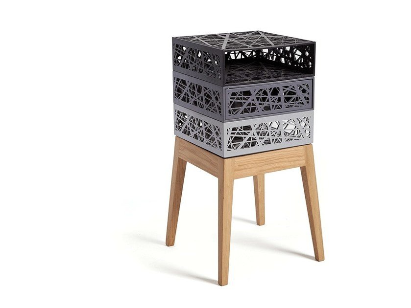 Sgabello / cassettiera STOOL & BOXES | Sgabello by Natalia Geci