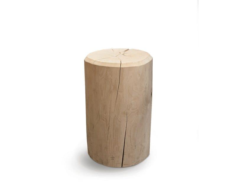 Sgabello da ufficio in legno massello STOOL by FANTONI