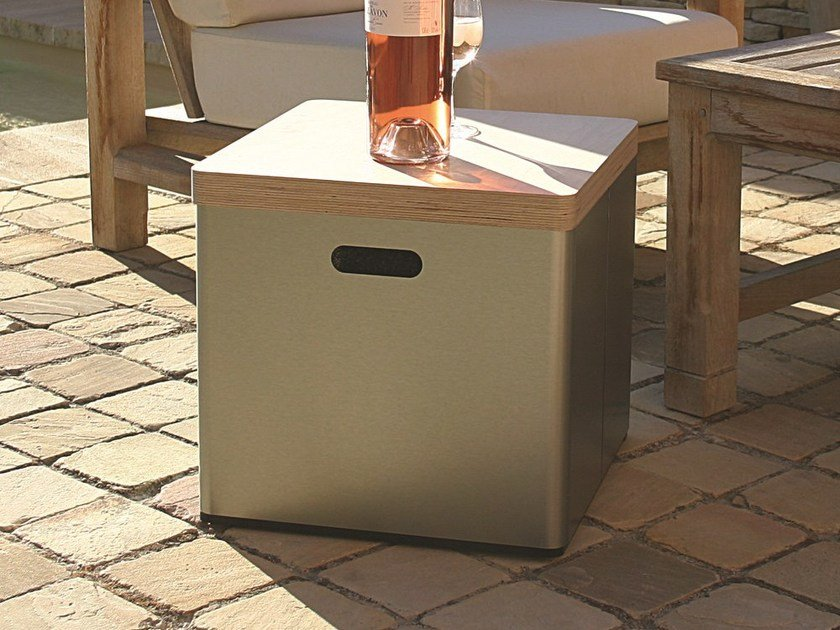 Garden side table / cool box STOOL*** by TRADEWINDS