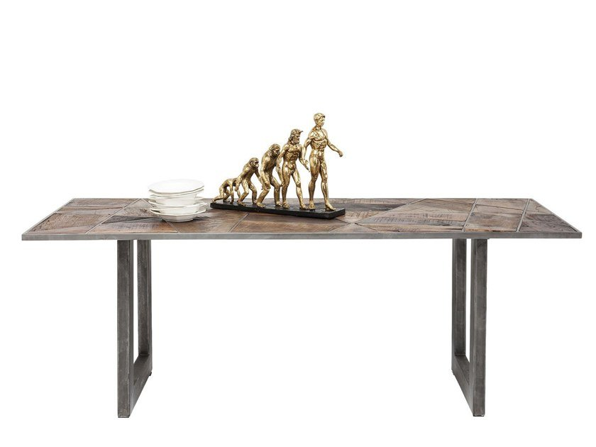 Rectangular wooden dining table STORM | Dining table by KARE-DESIGN