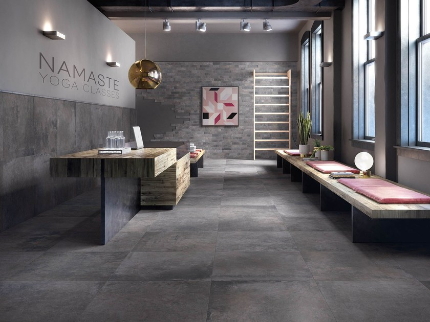 Porcelain stoneware wall/floor tiles STORY by Supergres
