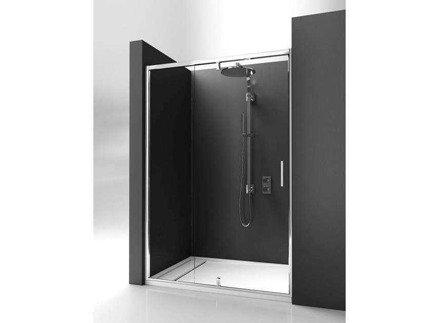 Catalogo Box Doccia Ideal Standard.Box Doccia A Nicchia Con Porta Pivotante Strada Mod Pv By