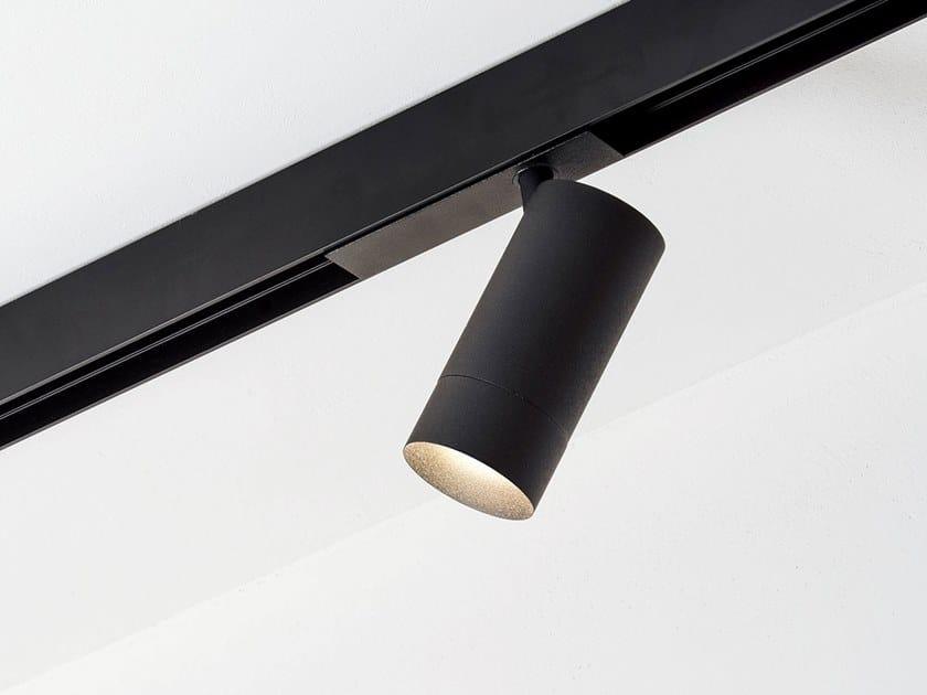 Illuminazione a binario a LED in alluminio verniciato a polvere STRAIGHT MAGNETIC by HER