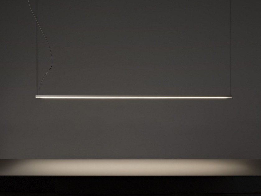 LED aluminium pendant lamp STRAIGHT by Olev