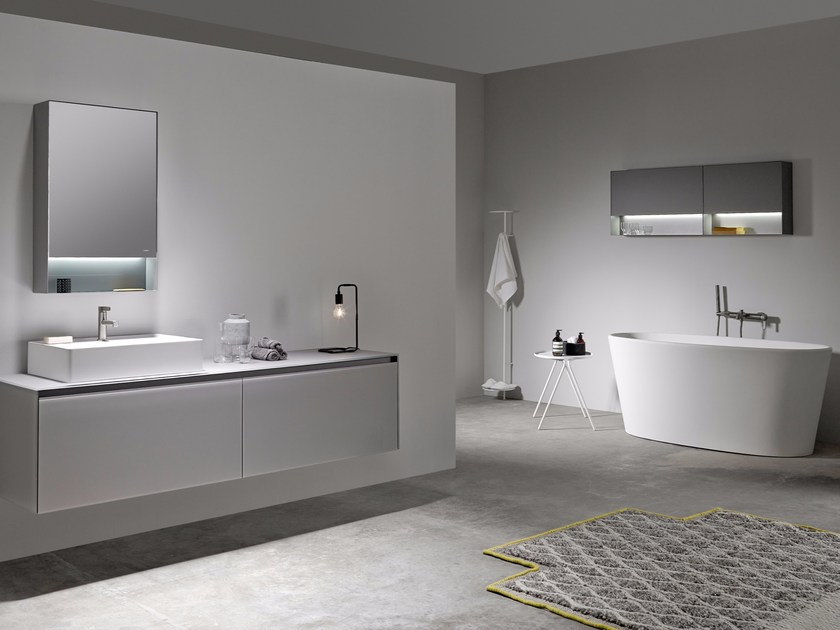 Bathroom furniture set STRATO 01 by INBANI