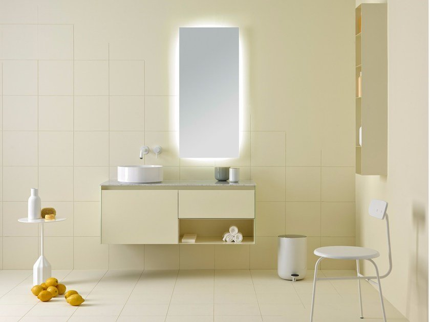Bathroom furniture set STRATO 03 by INBANI