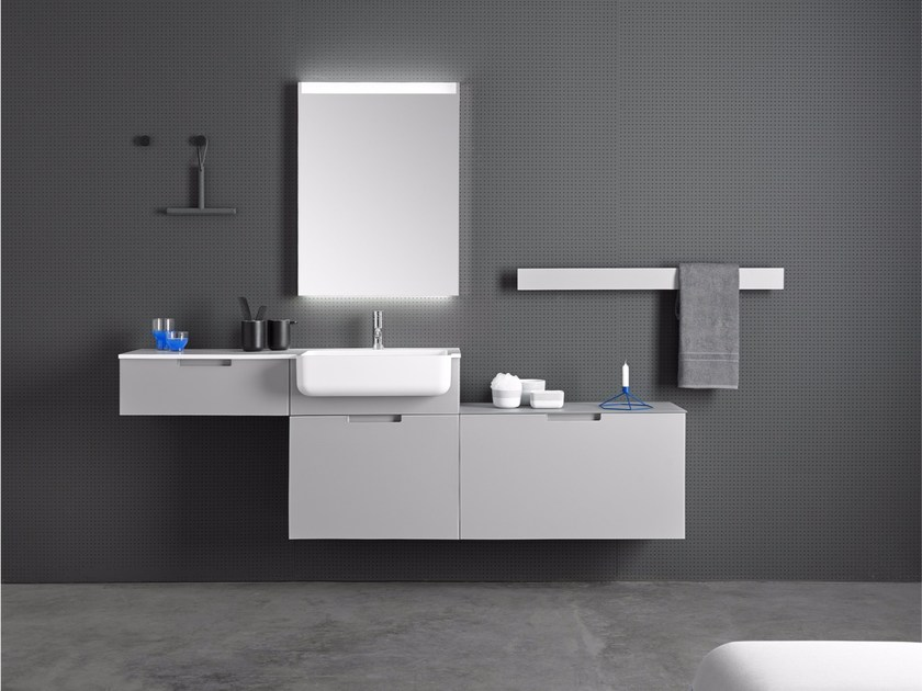 Bathroom furniture set STRATO 04 by INBANI