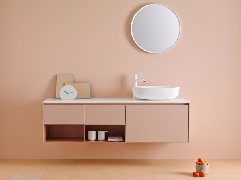 Bathroom furniture set STRATO 06 by INBANI