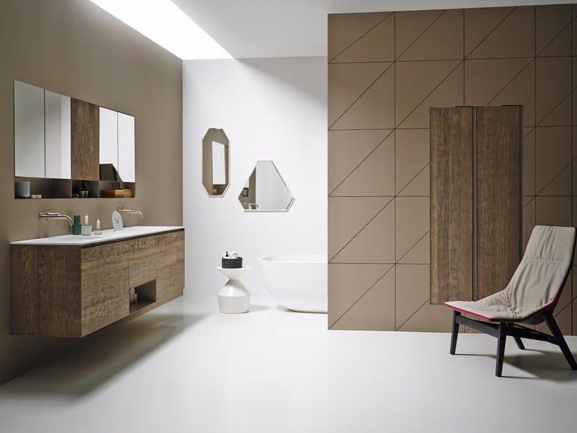 Bathroom furniture set STRATO 08 by INBANI