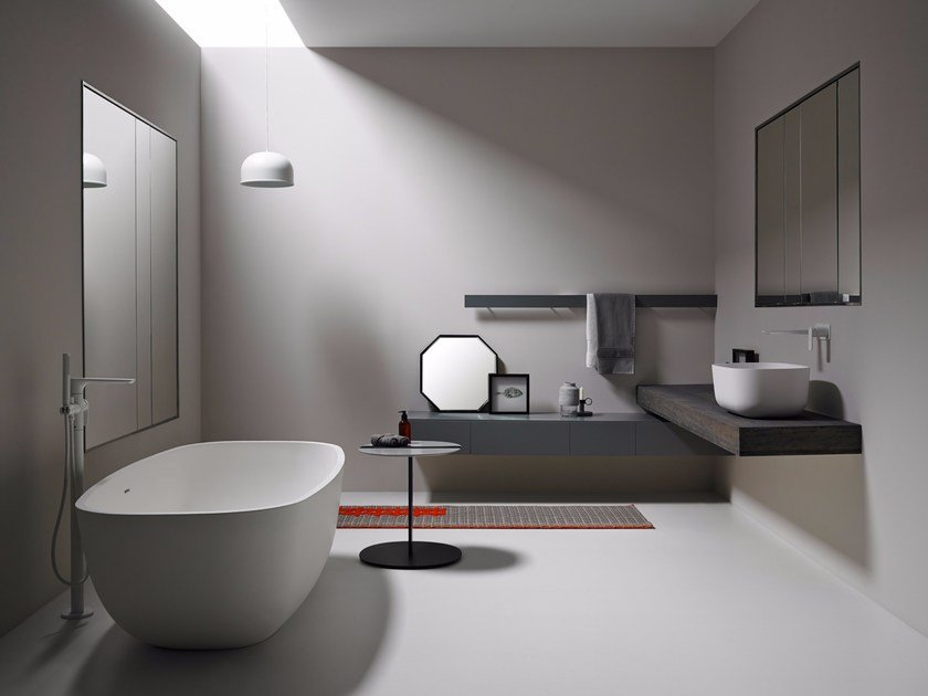 Bathroom furniture set STRATO 09 by INBANI
