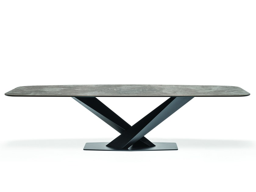 Rectangular ceramic table STRATOS KERAMIK by Cattelan Italia