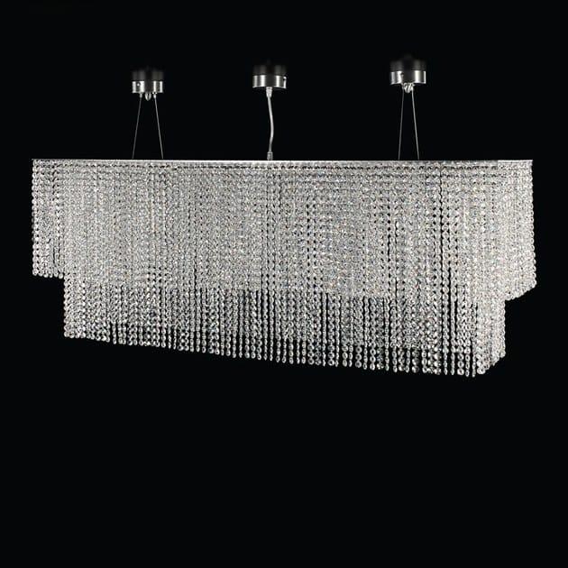 LED crystal pendant lamp STRATUS R | Pendant lamp by MULTIFORME