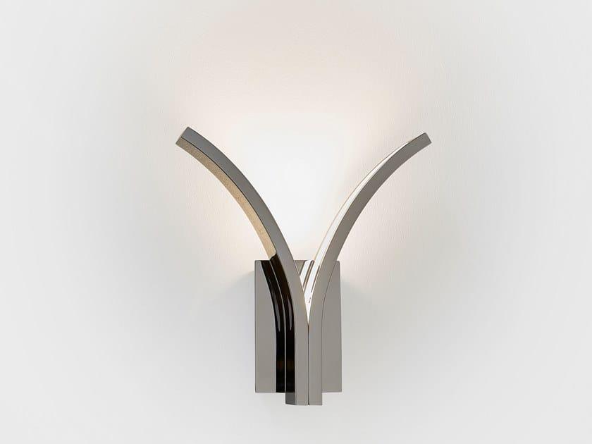 Lampada In Parete Con Luce Metallo Ilfari Da Led Braccio Stream Fisso W2 A Indiretta pqUGzMVLS