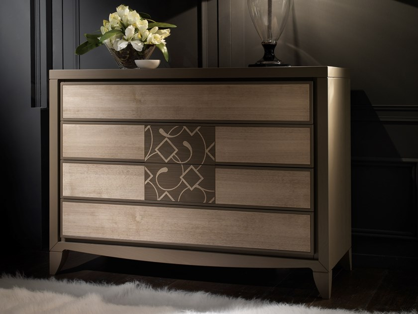 Wooden chest of drawers STREET | Chest of drawers by MOLETTA
