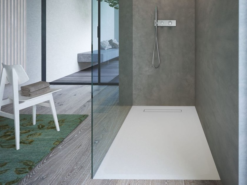 Built-in Aquatek shower tray STREET by DISENIA