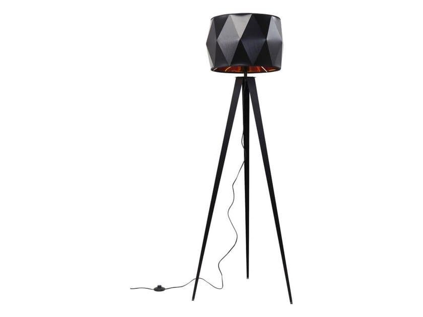 Steel and PVC floor lamp STRIGHT TRIPOD   Floor lamp by KARE-DESIGN