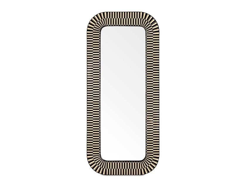 Espelho de chão retangular moldurado STRIKE by Scarlet Splendour