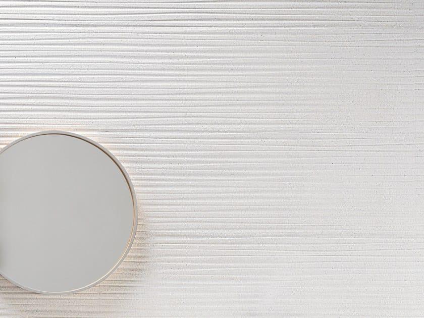 White-paste 3D Wall Cladding FORME BIANCHE STRIPE by Impronta Ceramiche