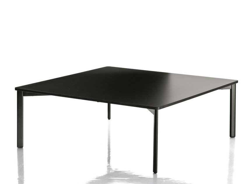 Square HPL coffee table STRIPED | Coffee table by Magis
