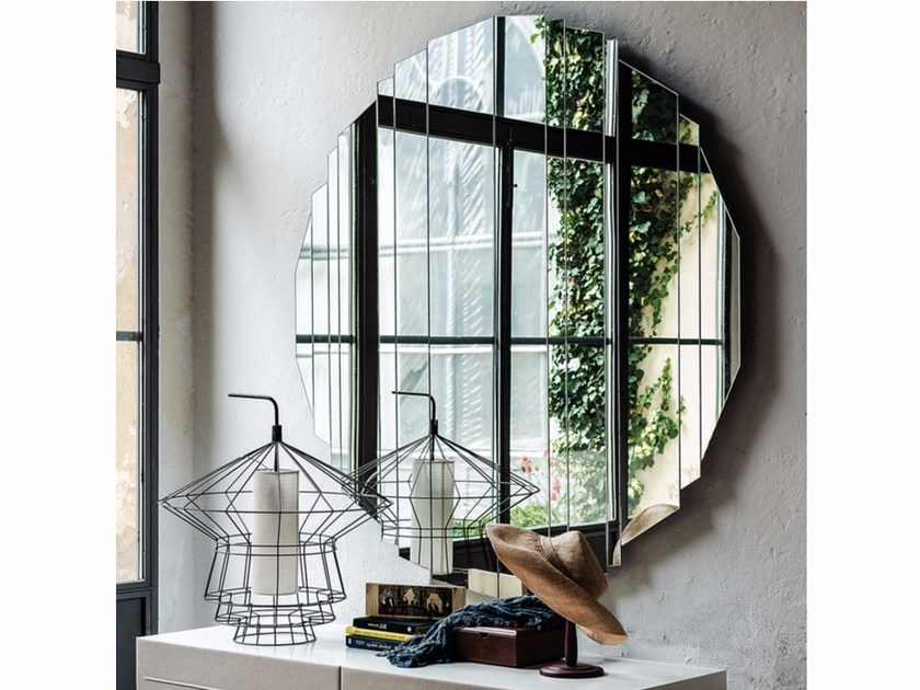 Wall-mounted mirror STRIPES by Cattelan Italia