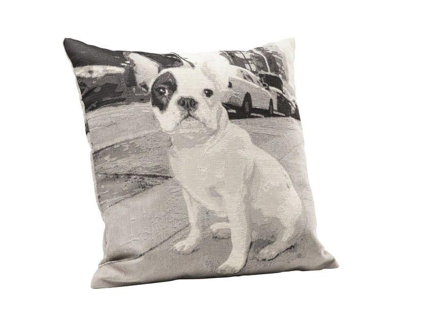 Square fabric cushion STROLCHI by KARE-DESIGN