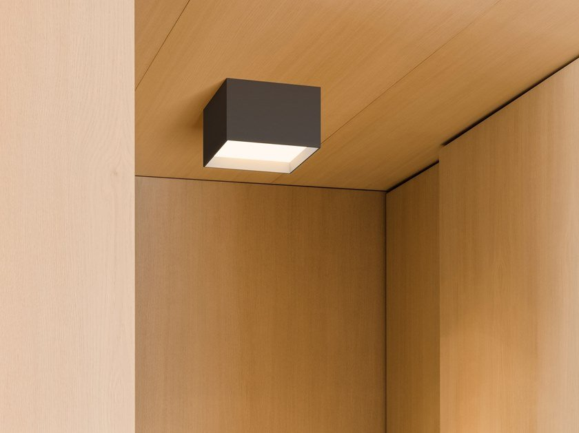 LED direct light aluminium ceiling light STRUCTURAL | Ceiling light by Vibia