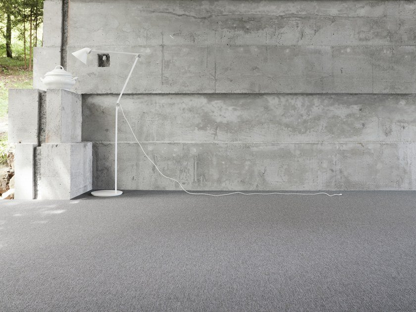 Solid-color carpeting STRUCTURES 700 by OBJECT CARPET