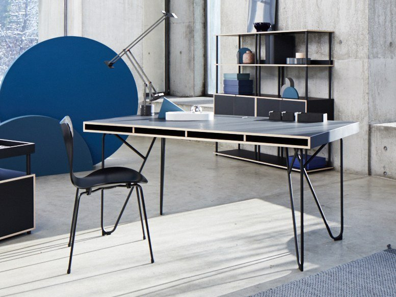 bureau composable plan de travail studio swing collection studio by bene design thomas feichtner. Black Bedroom Furniture Sets. Home Design Ideas