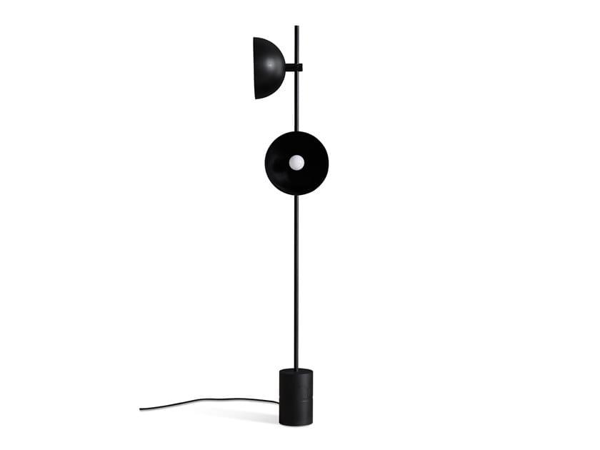 Lampadaire en acier enduit de poudre pour éclairage direct STUDIO | Lampadaire by Handvärk