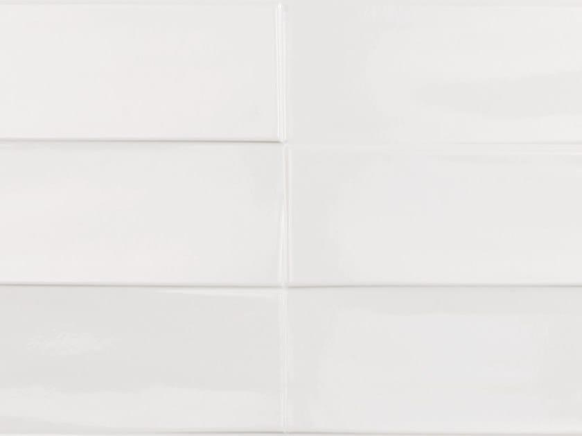 Rectified porcelain stoneware wall tiles STUDIO WHITE by PORCELANOSA