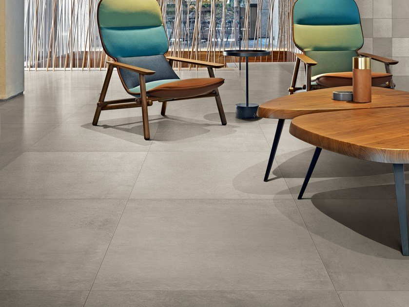 Porcelain stoneware wall/floor tiles with concrete effect STUDIOS OF CASAMOOD by Casa dolce casa