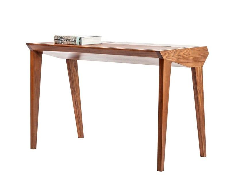 Walnut secretary desk STUDY by KONTRA