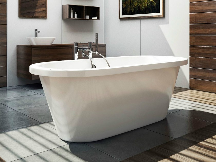 Freestanding oval bathtub STYLE by Polo