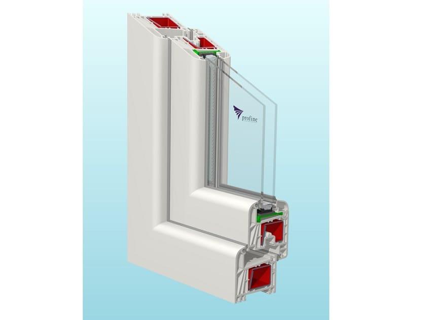 PVC sliding window STYLE70 by PIVA GROUP