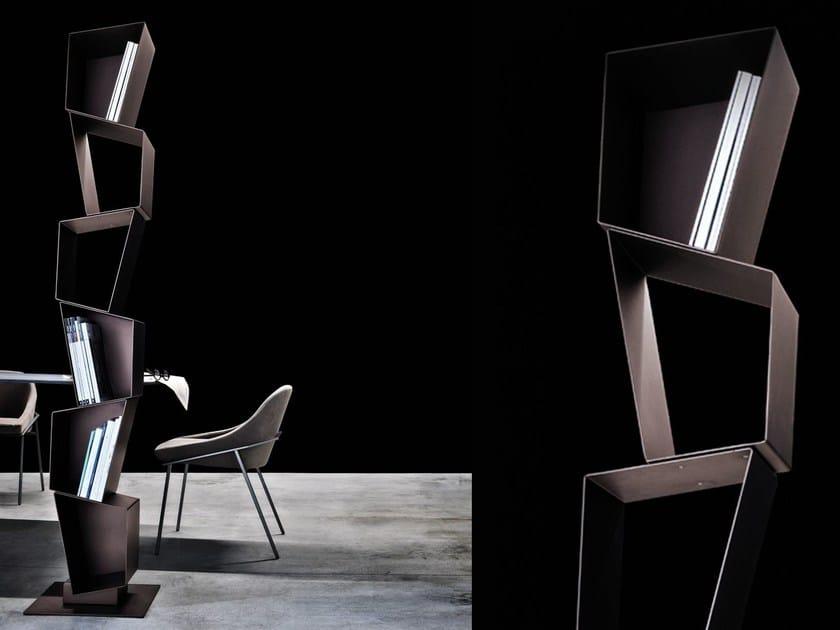 Open metal bookcase SU by Ronda Design
